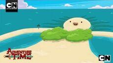 Island Lady Adventure Time Cartoon Network