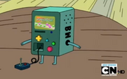 S1e23 BMO displays conversation parade
