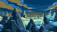Hug Wolf mountain region background