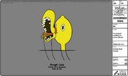 Modelsheet Lemongrab Landing on Lemon Horse