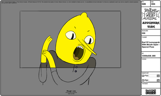 File:Modelsheet Earl of Lemongrab with Mouth Open - Special Pose.png