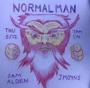 Normal Man Promo Art