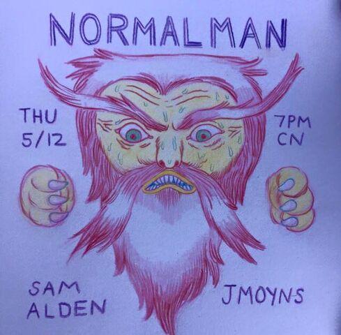 File:Normal Man Promo Art.jpg