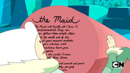 S7e23 text on the maid