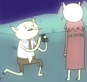 S2 E14 Maria being proposed to