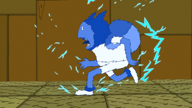 File:S4 E20 Finn running while being shocked.PNG