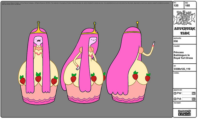 File:Modelsheet Princess Bubblegum in Royal Tart Dress.jpg