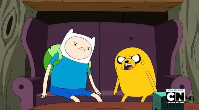 File:S2e23 Finn and Jake disagreeing.jpg