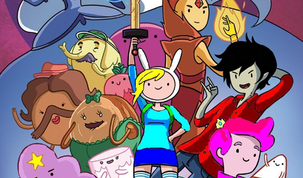 Adventure Time Fiona Cake 12