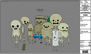 Modelsheet candypeople skeleton
