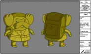 Modelsheet erik - leadJakescientist - withbackpack - rims - back