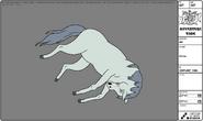 Modelsheet horse