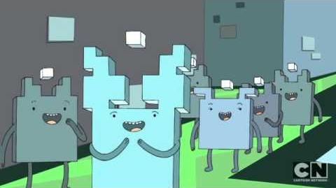 Adventure Time Cube People