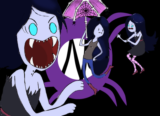 File:Marceline the Vampire Queen I by theghostlyartist.png