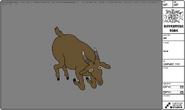 Modelsheet goat