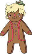 Gingerbread pat