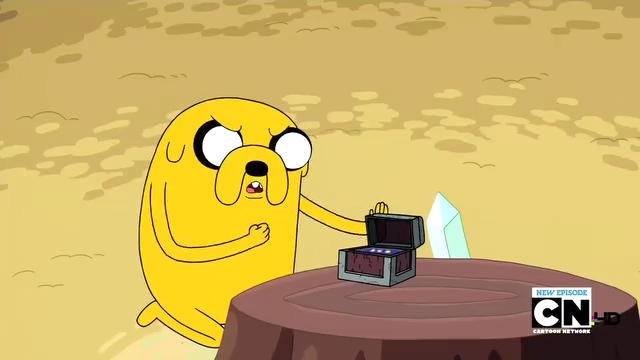 File:S2e13 Jake opening bean chest.png