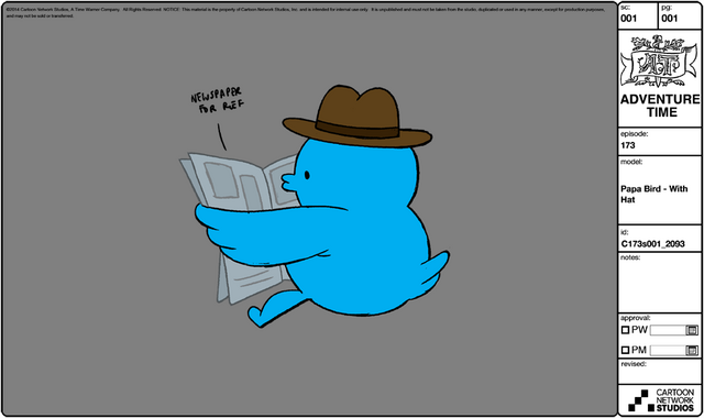 File:Modelsheet papabird - withhat.png