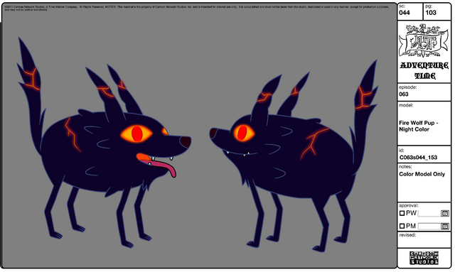 File:Modelsheet Fire Wolf Pup - Night Color.png