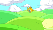 S6e12 Finn and Jake coming in for a landing