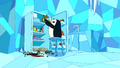 S4e24 Gunter breaking bottles.png