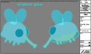 Modelsheet ghostfly closeup