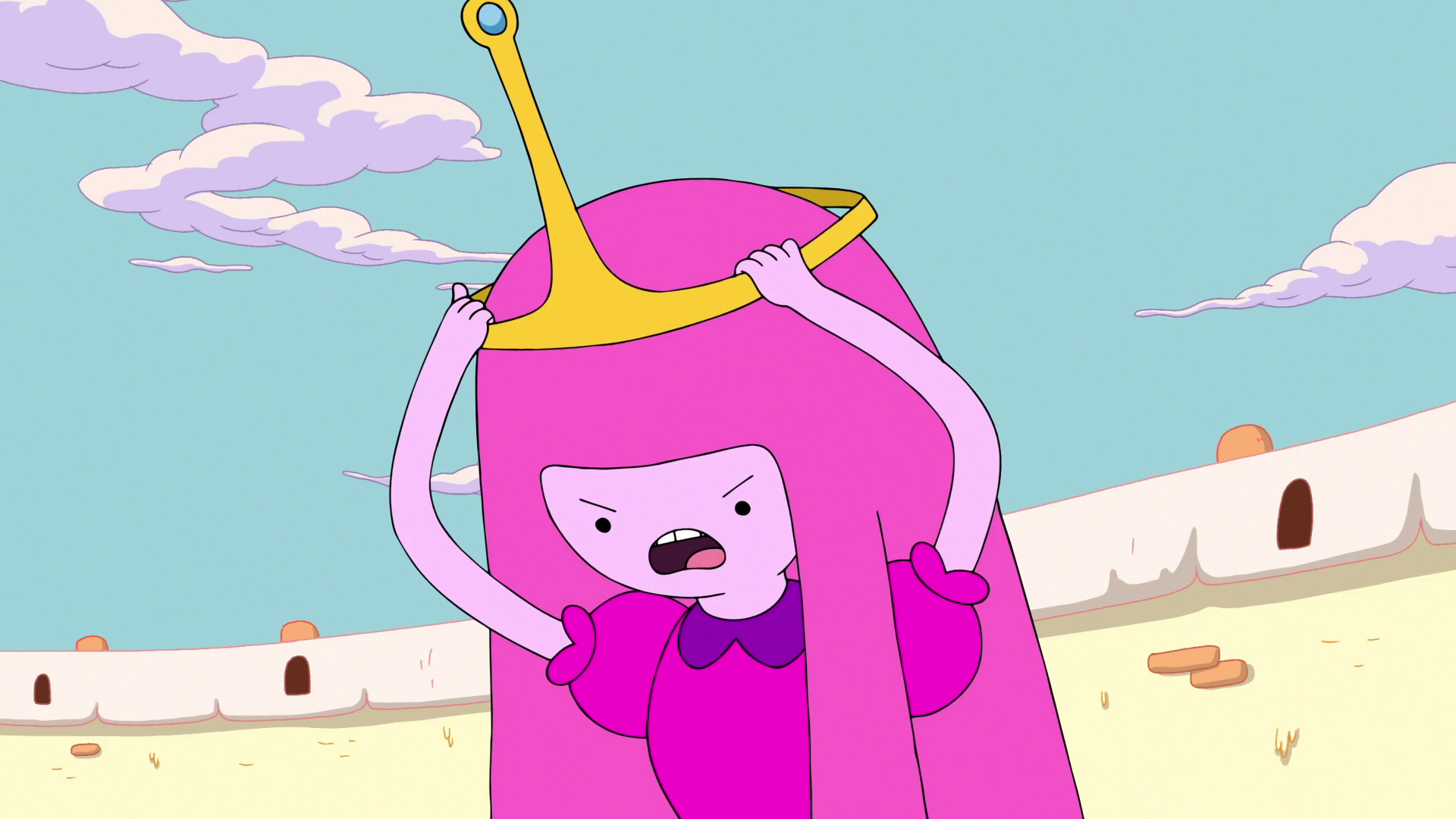 Image - S6e42 PB removing her crown.png | Adventure Time