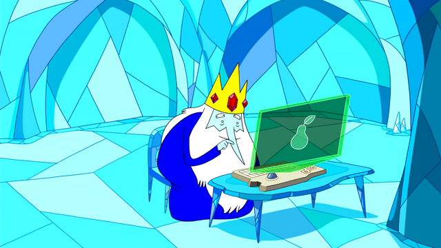 File:S3e4 Ice King using computer.png