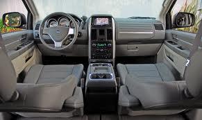 Dodge Caravan inside