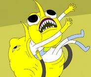 S5e24 Lemongrab eating clone
