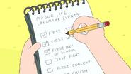 S6e26 Finn's checklist