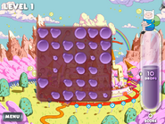 Splashback candy kingdom BG