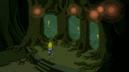 S6e28 Lemongrab approaching mirrors