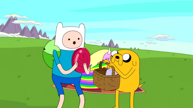 File:S5 e4 Finn holding disc with Jake holding basket.PNG