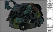 Modelsheet tires