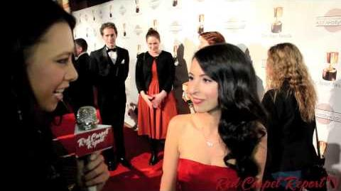 Jessica DiCicco at the 40th Annual Annie Awards AnnieAwards @jessicadicicco