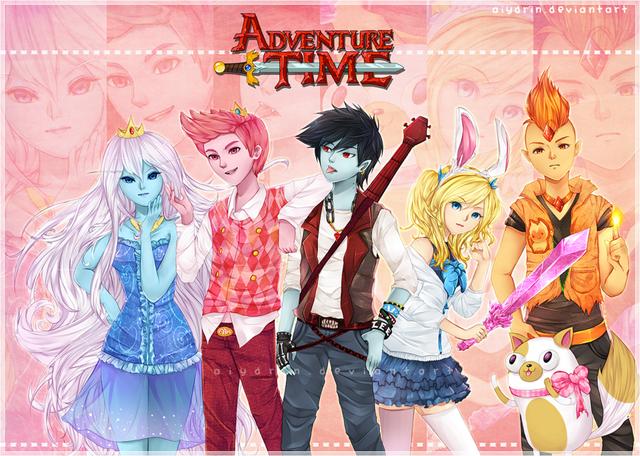 File:Adventure Time Anime Genderswap.png