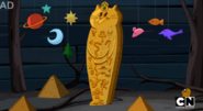 S5 e20 cat themed coffin