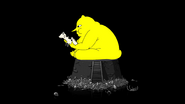 S5e51 fat Lemongrab eating cow