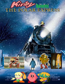 Kirby Boards The Polar Express