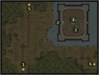 Wilderness (Castle) pins