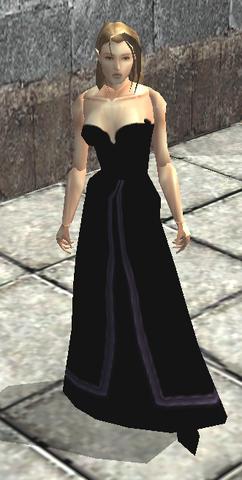 File:Long Black Silk Dress view.png