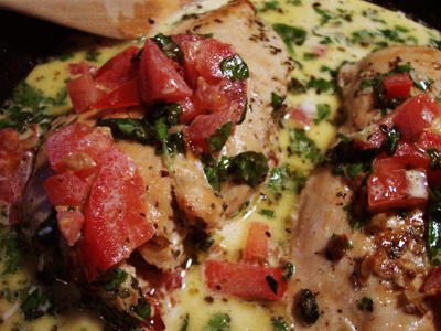 Chicken basil