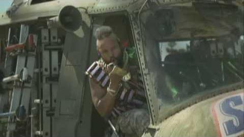 Mr. T Snickers Helicopter and Pool Advert Mr. T is Back!-0