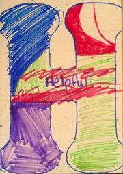 Letter H helpful-uprep