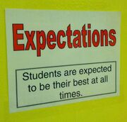 Expectations Sign their Best always
