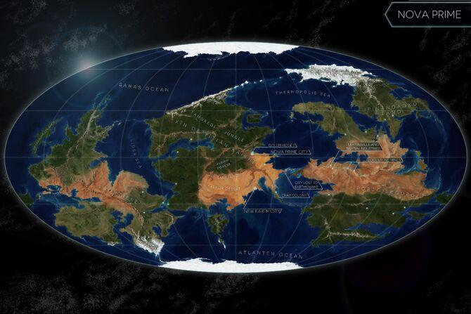Nova-map
