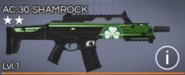 AC 30 Shamrock 2 star