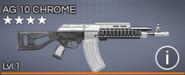 AG 10 Chrome 4 star