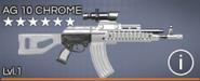 AG 10 Chrome 6 star